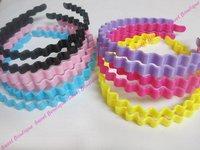 12pcs Stylish Wave Plastic Headbands! Free Shipping!