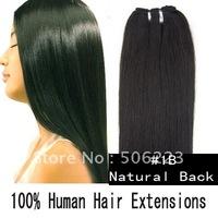 клип в человеческий волос челки периферии человеческих волос смешанного черный коричневый блондинка 4 цвета смешанные