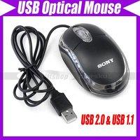 PC Laptop mini USB Optical Scroll Wheel Mice Mouse#44