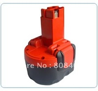Wholesaler Power tool battery for Bosch  with NI-CD cells 9.6V 2.0Ah high quaity and free shipping!