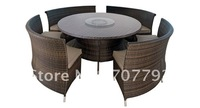 2012 Hot sale SG-12014B Urban new style dining chair,outdoor rattan furniture