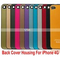 Free Shipping Wholesale For iPhone 4G Back Cover Housing Case Wire Drawing Floating Words 100Pcs/Lot - 87001897-908