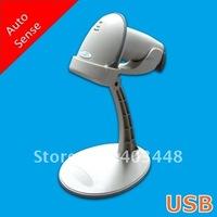 USB Handsfree Auto Induction Laser Barcode Reader-Grey Color(OCBS-LA04)