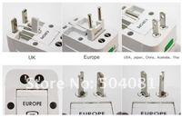 Wholesale Global universal plug converter adapter plug multi-function socket plug socket Free fast Shipping