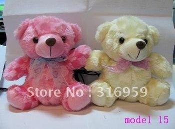 Free Shipping New  Mini Music USB 2.0 Portable Lovely Little Bear Doll cartoon Speaker Computer Mp3 Speaker 1 Pair