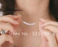 Promotion Price! 2012 Hot Sweet lady in a smile stars XiangShi necklace Free Shipping