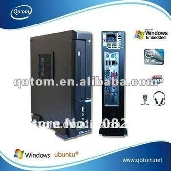Industrial computer,Qotom-T50 mini desktop pc,1.6G Dual-Core;embedded pc,all in one barebone pc