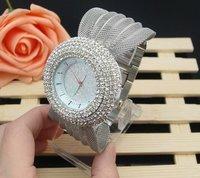 LY31 Free Shipping wholesale 2013 Latest Design Analog Quartz Watch Women fashion crystal Wrist Watch