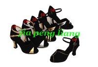 Wholesale Latin Dance Shoes Women's shoes 6cm Heels Ballroom Shoes 8 Colors EU Size 34-40 20pcs Free Shipping