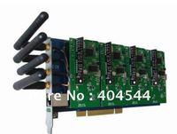 4 ports GSM CDMA Asterisk PCI analog Video card