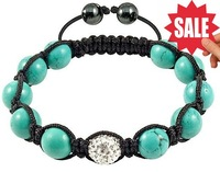 Free Shipping,AAAAA Quality! Shamballa bracelet jewelry,Fashion Jewelry 10mm Shamballa Beads & Turquoise Beads jewellery
