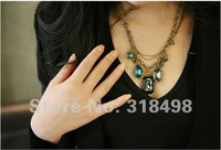 wholesale 2012 new fashion big style jewelry necklace Adorn article