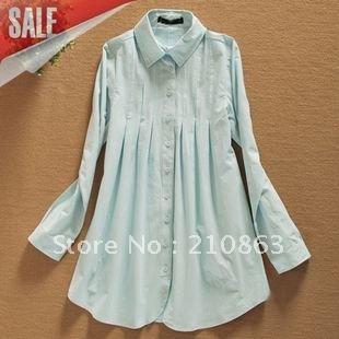 White  Size Dress on Cotton Dress Shirt Guaranteed Stay Perfectly Pressed   Women Dress