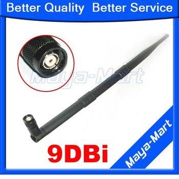 10pcs/2.4G 9DBI high-performance antenna 9DBI antenna Gain WIFI Booster Wireless Lan omnidirectional SMA Antenna