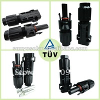 Wire connectors for solar system,TUV certificate,copper,silver contact