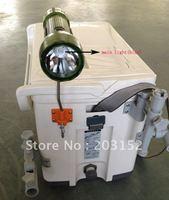 3W LED 5Ah li-ion battery fishing lamp fishing light fishing flashlight with bait light(by DHL EMS)