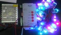 50pcs TLS3001 pixel node(Square model)+1pcs 5V/60W power supply+ SD card pixe module controller(pre-set,easy to use)