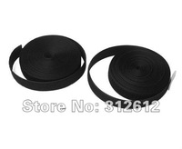 10mm Black Hook and Loop Tapes Wholesale Free Shipping