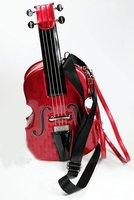 New Hot Fashion Amliya Abstract Lady's Handbags Messenger bags tote bag romatic Violin shape handbag 4 colors