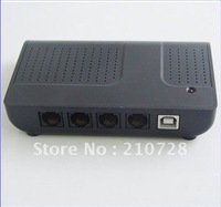 Factory Outlet 4 Channels USB Telephone Recording Device /USB Telephone recorder box for 4 lines call recording