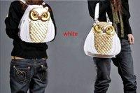 New Hot Fashion Amliya Abstract Lady's Handbags Messenger bags tote bag romatic Owl head shape handbag 4 colors