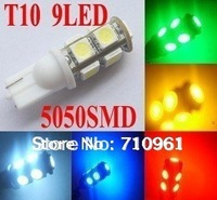 s 10pcs/lot Car wide led light White T10 194 168 high power Car LED light Bulbs 1W high power Led Bulb