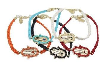 Personalized Discount  handmade Braided rope bracelet   braided leather bracelets  friendship bracelets