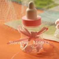 M1 Free shipping  feeder bottle shaped Wedding Candy Box, creative gift box