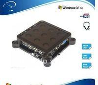 Mini itx case Cloud terminal,Qotom-C11 3 USB,WIN ce5.0,Dual-working style ,Thin client