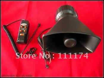 12V 5 Sounds Loud Horn/Siren Max 300db Car Van Truck