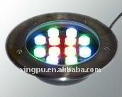 2012 HOT SALE solor power 24v10W led undergroud light DMX512 control(China (Mainland))