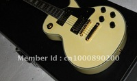 best cherry custom  guitar Milk white electric guitar HOT! Free shipping Musical Instruments