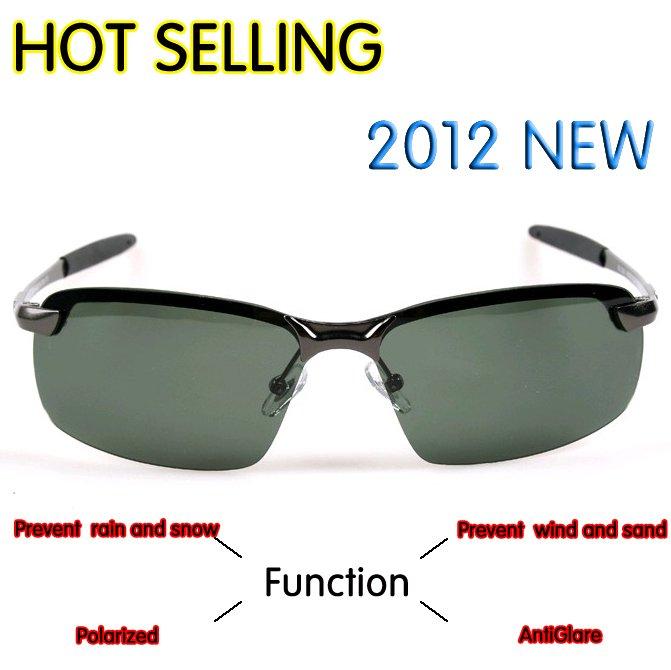 Мужские солнцезащитные очки retail, Fashion sports Man Polarized lens Sunglasses, Anti UVA popular style glasses