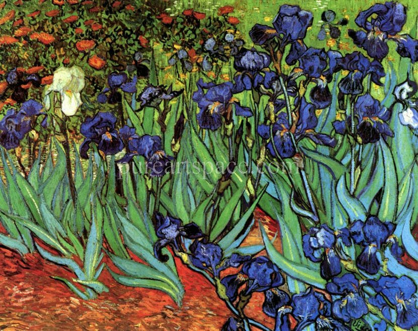Famous Flower Paintings Vincent Van Gogh Famous Vincent Van Gogh