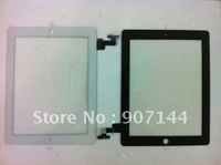 EMS free shipping 10pcs/lot Glass Digitizer Replacement  for  iPad 2 Touch Screen