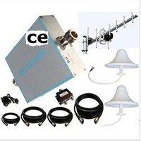 full set 70dB ( 500-800m2) CDMA800 mobile booster/repeater/amplifier +2 omni antenna+1 yagi+ 23 meters cable+ power splitter