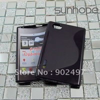 curve TPU cell phone case for LG F100L Optimus Vu,manufacturers,wholesale/retail,free shiping