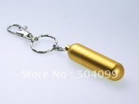 metal pill usb flash drive 2gb free shipping