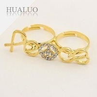 Min.order is $15 (mix order) Free shipping,ring wholesale,vintage pearl ring,free gift  R354