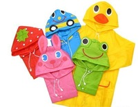 Free Shipping 70pcs/lot Linda Linda Funny Rain Coat,Kids Raincoat/Rainwear/Rainsuit,Kids Waterproof Garment