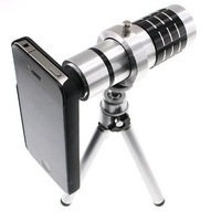 Original JEC 12x Mobile Telephoto Zoom Lens / camera lens for Apple/iPhone 4 /Iphone 4S