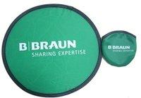 Customized Promotion Gift with Printed LOGO Nylon Foldable Frisbee