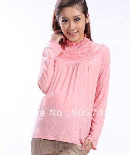 Free shipping 2012 Pregnant women, spring coat primer shirt / pregnant women ...