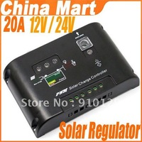 20A Solar Panel Charge Controller Regulator 12V/24V Autoswitch