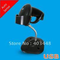 USB Auto Sense Laser Barcode Reader With Bracket -Black Color(OCBS-LA11)