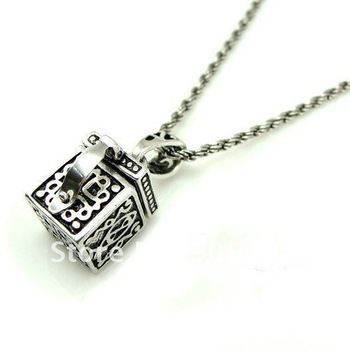 Wholesale 50Pcs/Lot Ultra Unique Box  Pendant Necklace To Attract Foucs Perfect Gift For Friends Especially For Lover