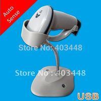 Grey Color USB Hand Free Laser Barcode Scanner Barcode Reader (OCBS-LA11)