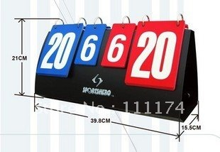 Portable Volleyball Basketball Table tennis Scoreboard(China (Mainland))
