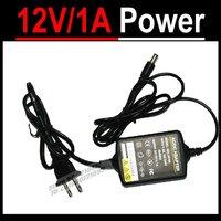 DC 12V 1A Power Supply Adapter Switch Charger for CCTV Camera, US, EU, UA plug