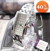 Наручные часы Christmas gift 2012 New style Cow Leather hot sale bracelet watch women Fashion Wrist Watch kow006